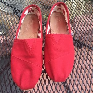 Red Toms M 8.5 used